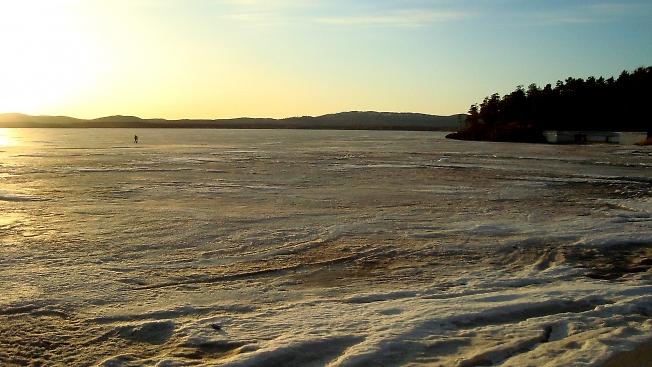 Озеро в Озёрске.