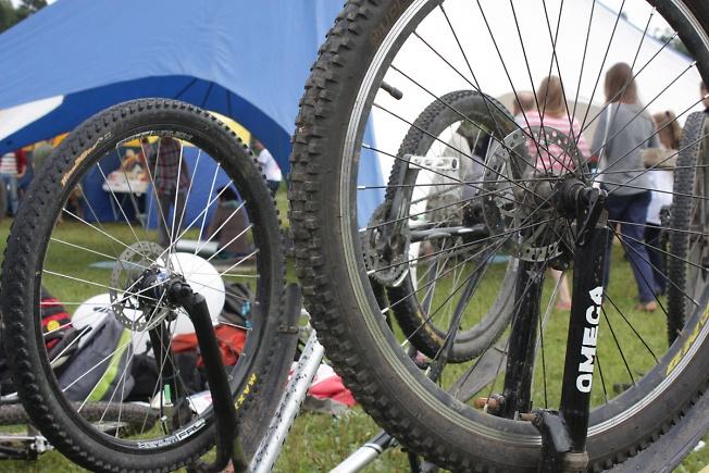 велопробег на фестивале