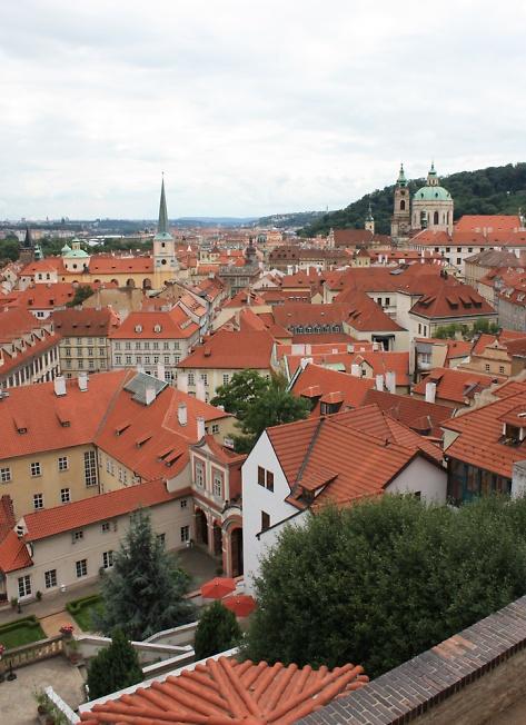 Прага. Городской пейзаж