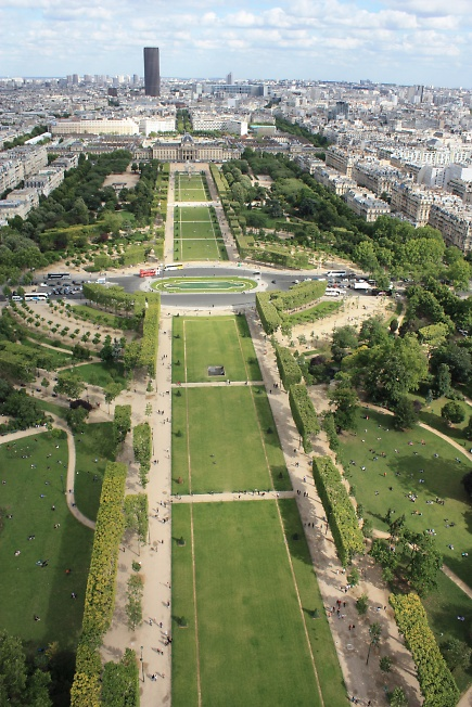 Вид на Монпарнас