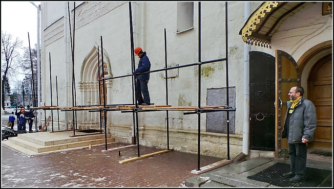 Реставрация Троицкого собора 1