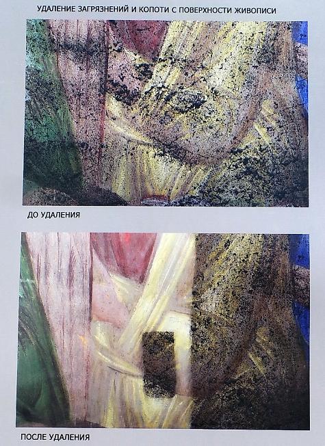 Фрески Успенского собора 2
