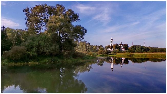 На Шерне-реке