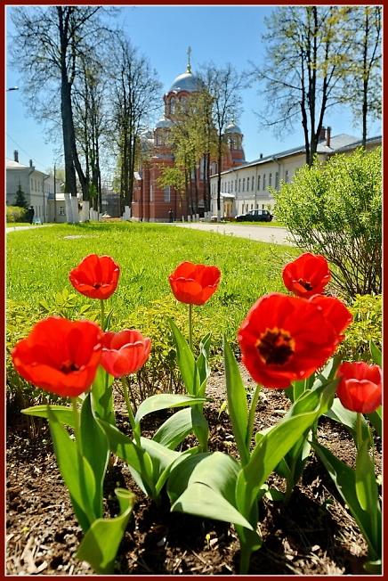 Хотьков монастырь 9 мая