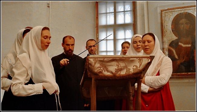 В музее Рублева 2