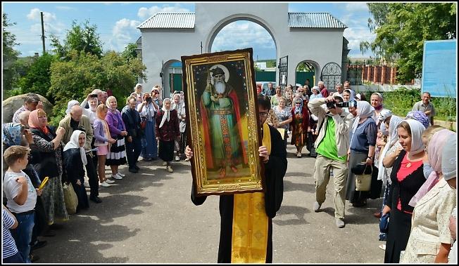 Встреча Крестителя Руси
