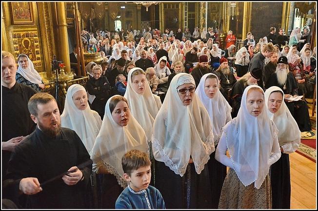 На Вечере духовных песнопений в Покровском соборе