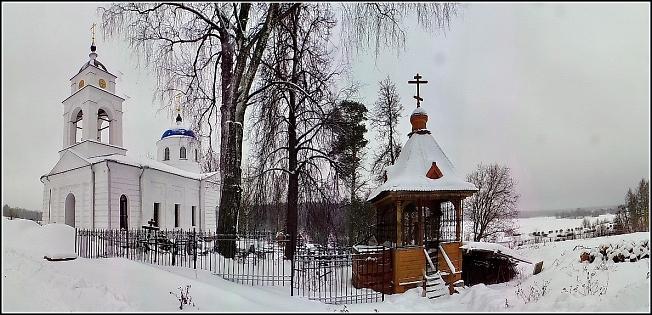 Никольская церковь в Малинниках