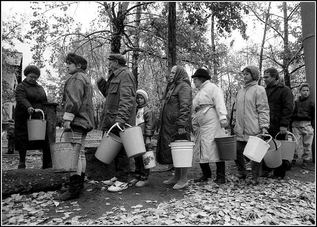 За водой, 1993 год