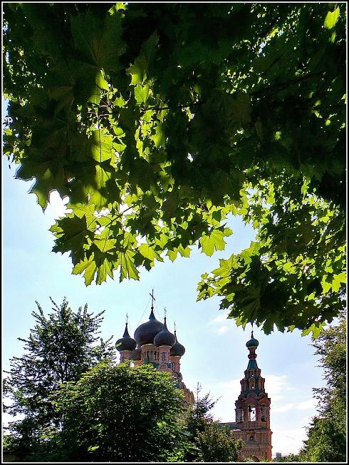 Церковь Троицы Живоначальной в Останкино