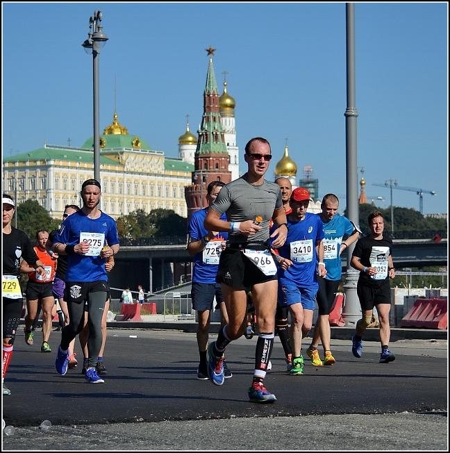 Московский марафон 2017, позади 37 км