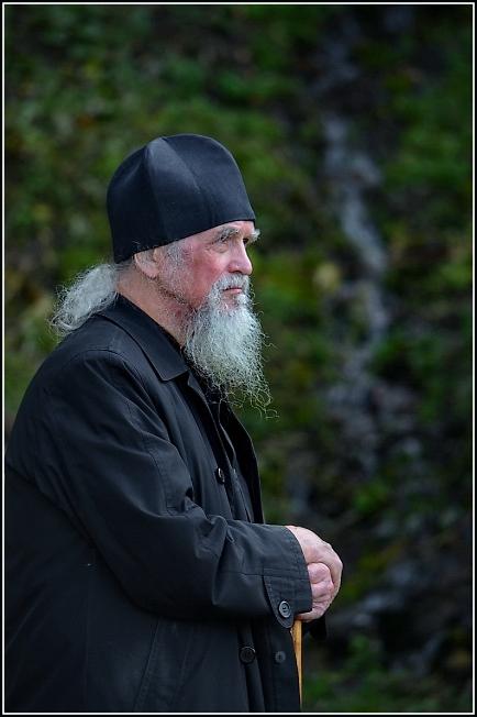 Святогорье. На источнике преподобного Сергия Радонежского.
