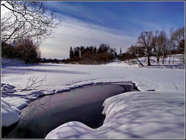 На Скитском пруду