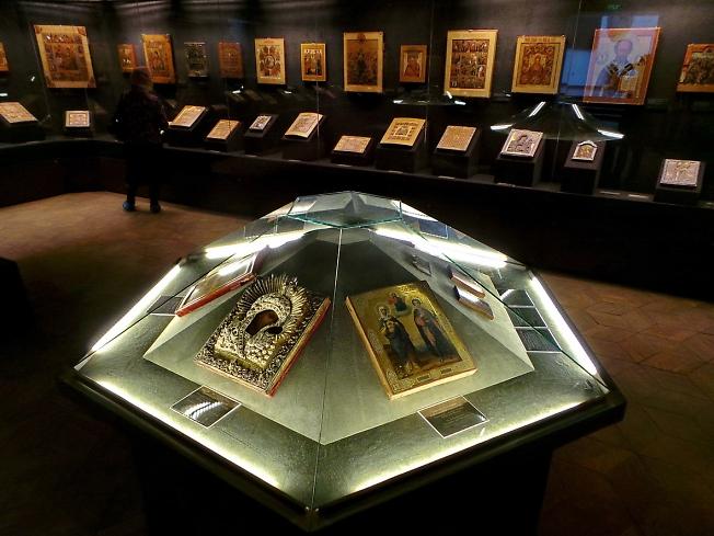В Музее русской иконы