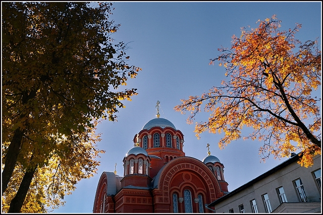 Осень в Хотьково