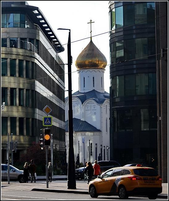 Церковь святителя Николы на Тверской заставе в Москве
