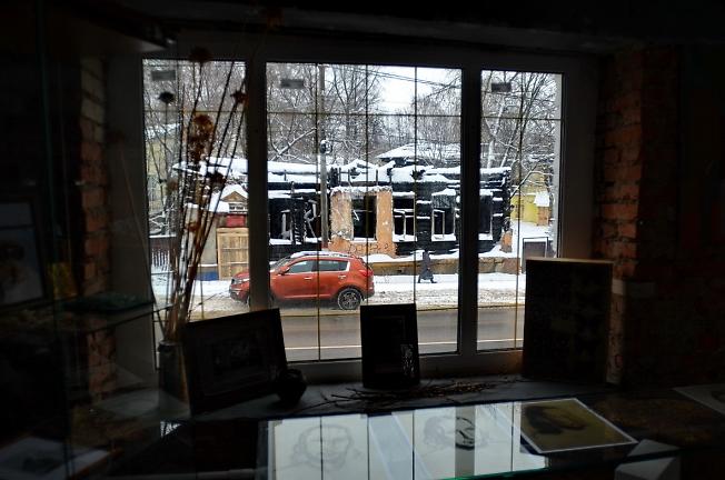 Вид из окна музея отца Павла Флоренского, Сергиев Посад