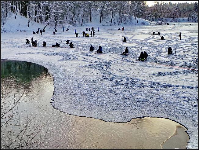 """Фестиваль зимней рыбалки """"Мормышка"""" на Скитских прудах 2"""