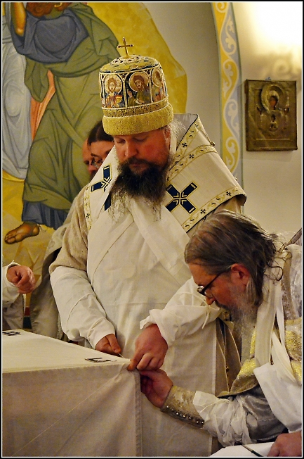 Во время Великого освящения 2
