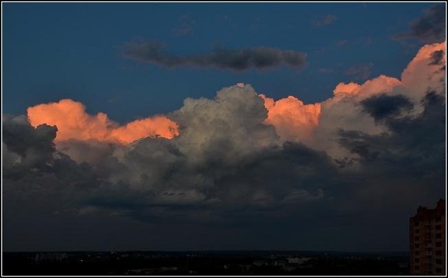 Небо июльское