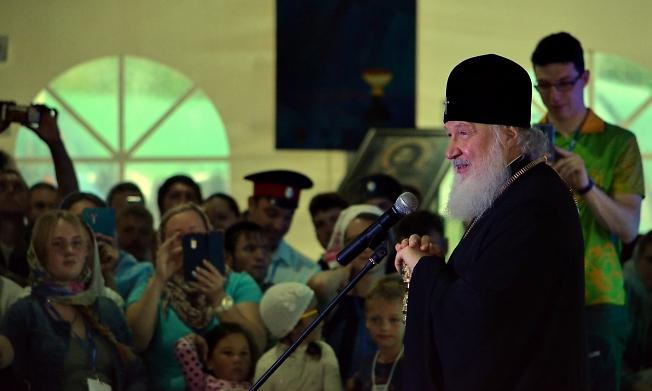 Патриарх Кирилл 2