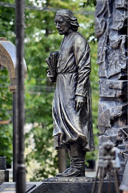 Памятник священнику Павлу Флоренскому