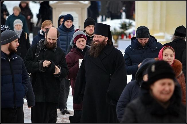 Новый наместник лавры епископ Сергиево-Посадский Парамон