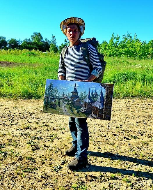 Марк, художник из Москвы
