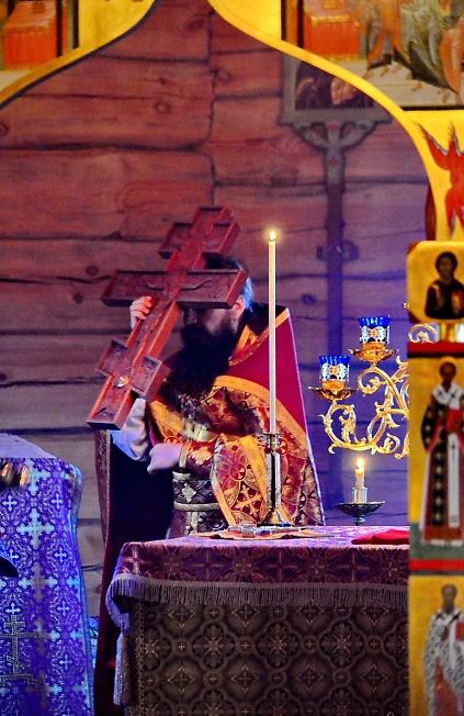 Кресту Товему поклоняемся, Владыко!