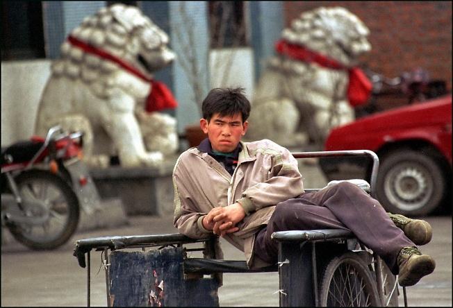Дремлющие львы, Китай.