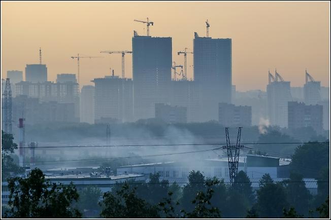 Москва. Запад.