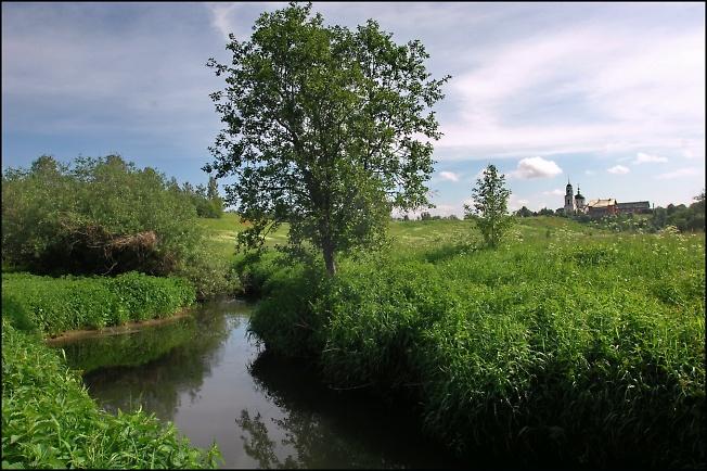 Радонежье, река Пажа.