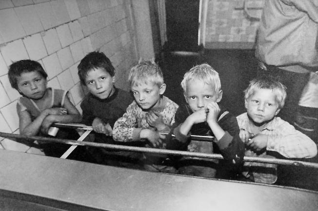 Шахтерские дети.