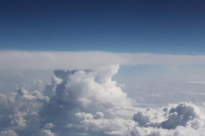 Горы из облаков