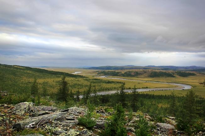 Вид с плато