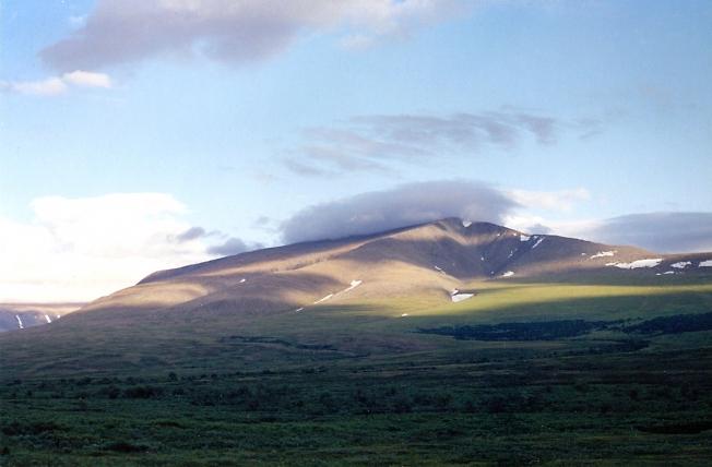 Одна из гор