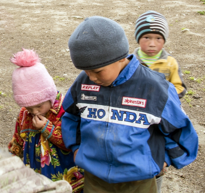 Дети из чума