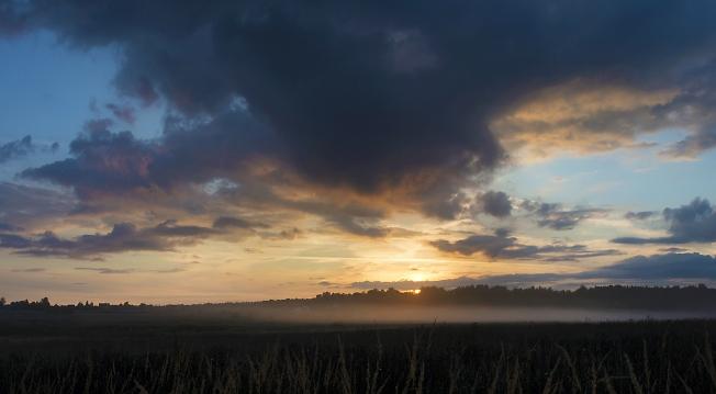 И туман и облака
