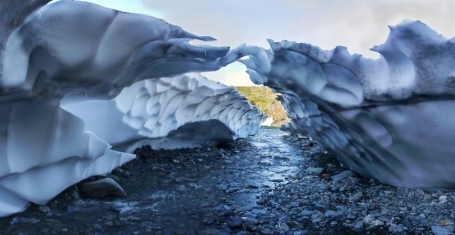 Снежный мостик