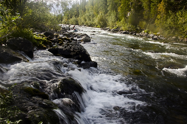 Водопадный приток