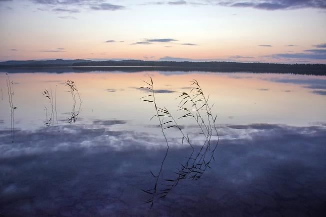 Челозеро. Вечер