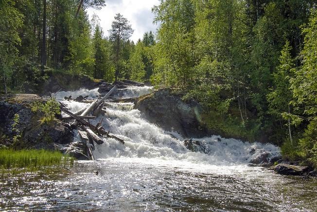 Водопад на Куксе 3
