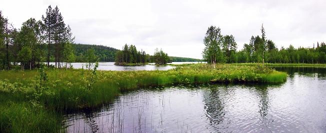Разливы реки Пудос