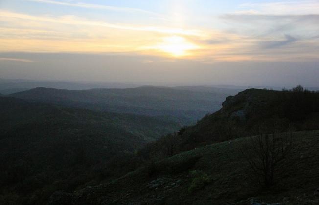 Вечер в крымских горах 2