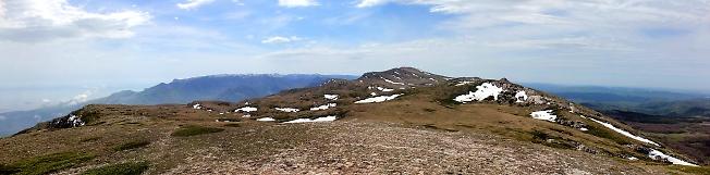 Вершина Ангар-Бурун 2