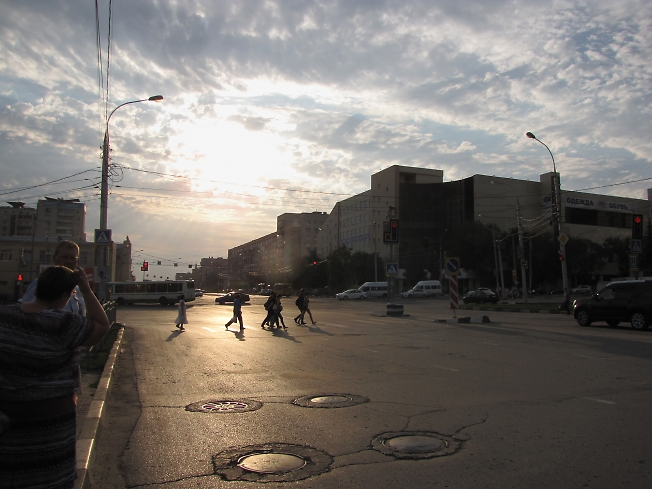 Улица в Ульяновске
