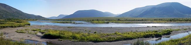 Большая Уса в горах