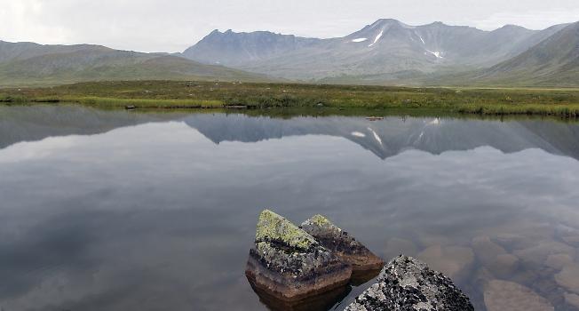 Перевальное озеро 2