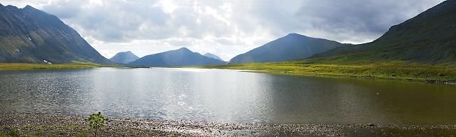 Озеро Малое Хадата-Юганлор. День