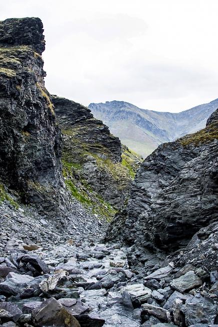 Скальный каньон
